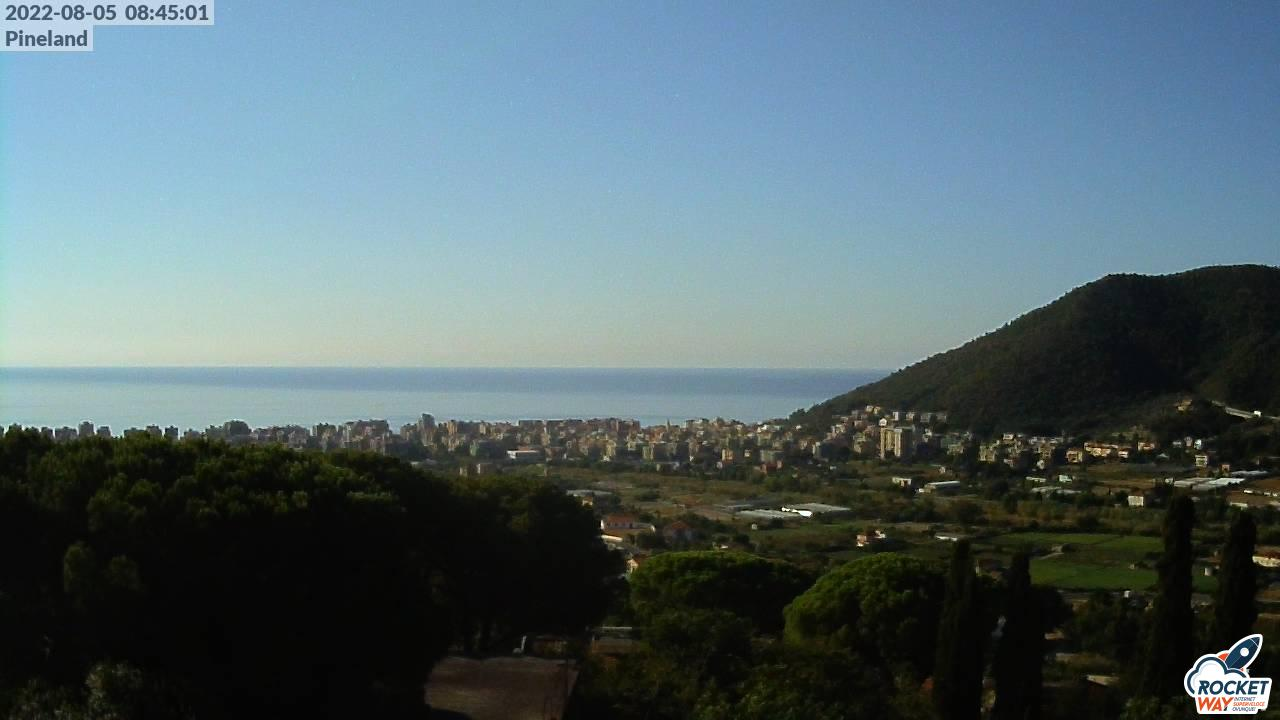 Vista dal Villaggio di Pineland - immagine da webcam